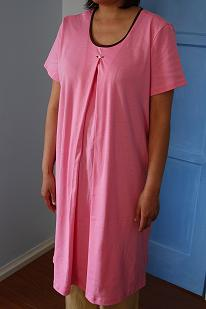 Rose night gown